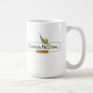 Carbon Neutral Colorado Basic White Mug