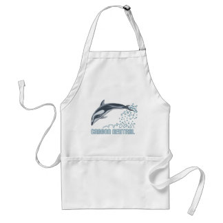 Carbon neutral conservation / dolphin jumping aprons