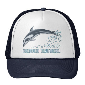Carbon neutral conservation / dolphin jumping cap