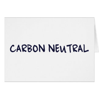 Carbon Neutral Greeting Card