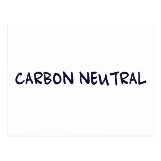 Carbon Neutral Postcard