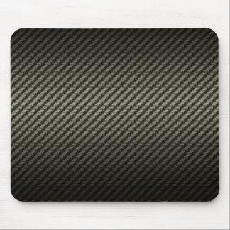 carbon pattern mouse mat