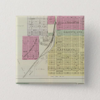 Carbondale, Quenemo, Kansas 15 Cm Square Badge
