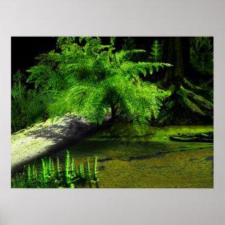 Carboniferous Fern Poster