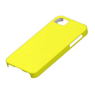 Carcasa para Iphone 5 color amarillo iPhone 5 Case-Mate Protector