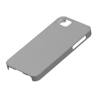 Carcasa para Iphone 5 color gris iPhone 5 Protectores