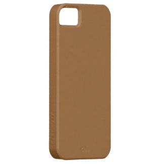 Carcasa para Iphone 5 color marrón iPhone 5 Protector