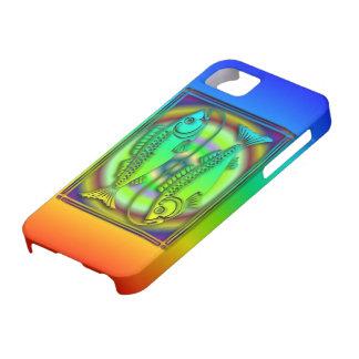 Carcasa para Iphone 5 color Piscis iPhone 5 Case-Mate Cárcasa