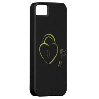 Carcasa para Iphone 5 Deluxe4 llave de tu corazón iPhone 5 Case-Mate Carcasas