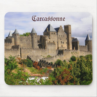 Carcassonne fortress in France Mouse Mat