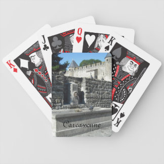 Carcassonne, France Bicycle Playing Cards