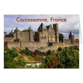 Carcassonne, France Card