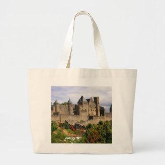 Carcassonne, France Large Tote Bag