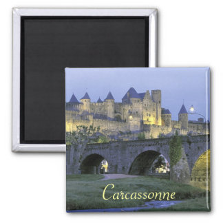 Carcassonne France magnet