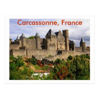 Carcassonne, France Postcard