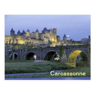 Carcassonne France postcard