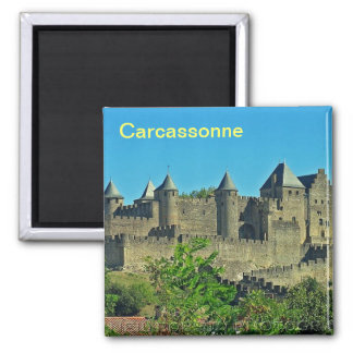 Carcassonne magnet