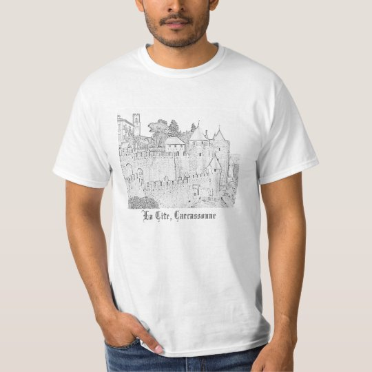 Carcassonne's La Cite T-Shirt