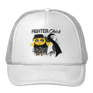 Carcinoid Cancer Fighter Chick Grunge Trucker Hats