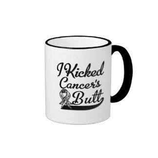 Carcinoid Cancer I Kicked Butt Ringer Mug