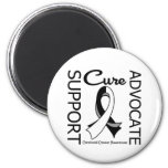 Carcinoid Cancer Support Advocate Cure Refrigerator Magnet
