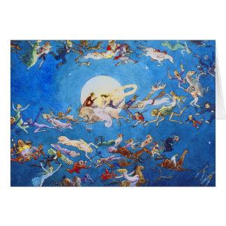 Card A Dance Around the Moon by C Doyle
