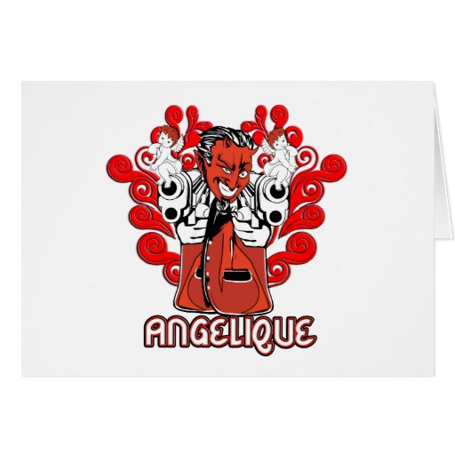 """Card:  """"Angelique, the Devil Made Me Do It!"""""""