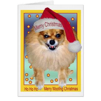 Card | Bad Santa Woofing Christmas