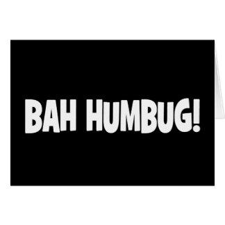 Card: Bah Humbug! Card