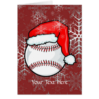 Card - Baseball Christmas