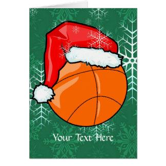 Card - Basketball Christmas