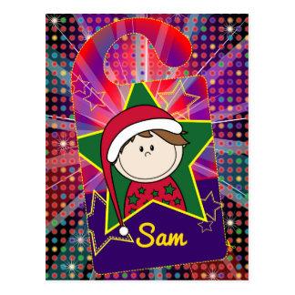 Card - Christmas - deurhanger Postcard