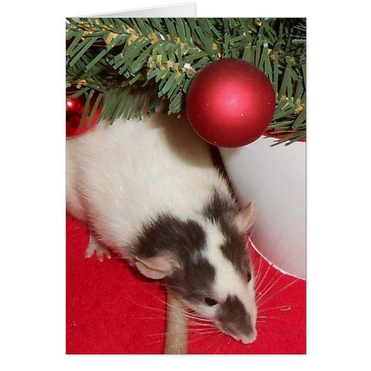 Card: Christmas Rats Card