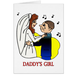 Card: Daddy's Girl Greeting Card