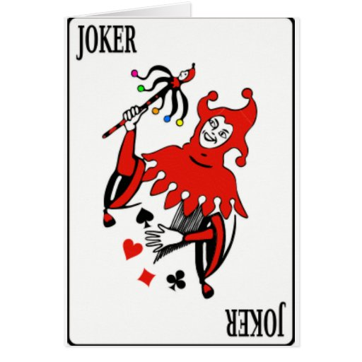 Card Deck Joker Zazzle