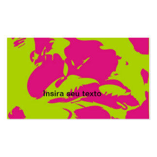 Card desing 2 pack of standard business cards