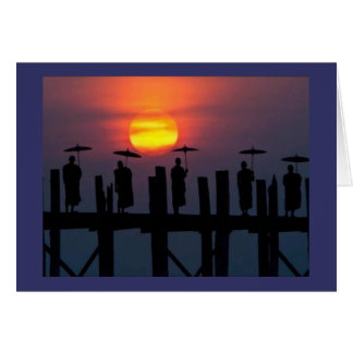CARD-DIVINE SUNSET GREETING CARD