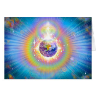 CARD- EARTH & UNIVERSE GREETING CARD