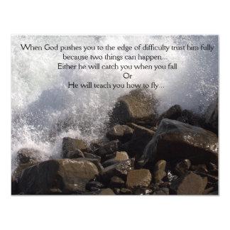 Card - Encouragement - Splashing Waves