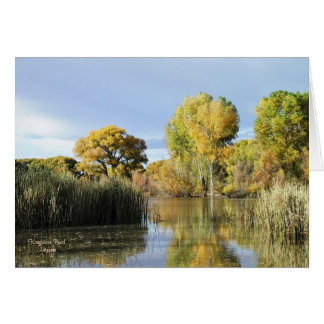 Card: Fall At Kingfisher Pond #8 Card