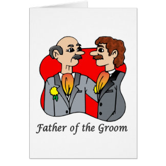 Card: Father of the Groom Greeting Card