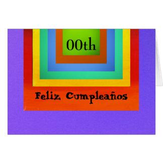 Card - Feliz Cumpleaños - Multicolor