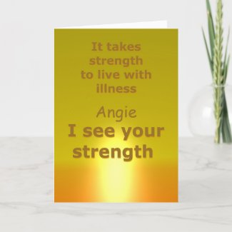 Card for an ill friend | Get well