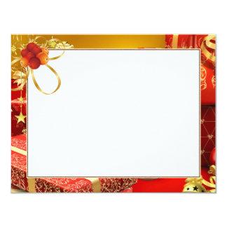 "Card for ""Present "" photo 11 Cm X 14 Cm Invitation Card"