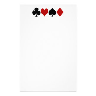 Card game stationery