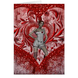 Card-Gothic Valentines Card