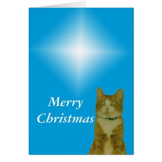 Card - Greeting - Christmas star
