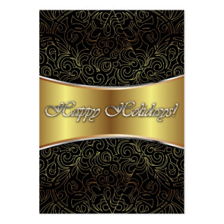 Card Happy Holidays Pack Of Chubby Business Cards