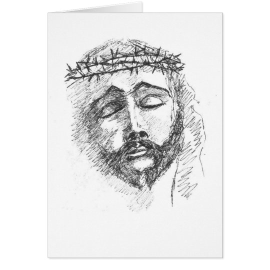 Card - Head of Christ