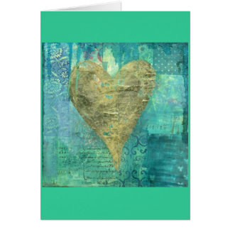 CARD-HEART OF ART GREETING CARD
